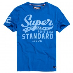 T-shirt Superdry Standard Issue Hombre royal