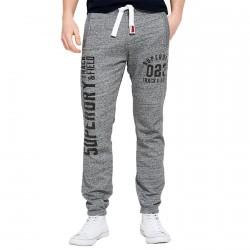 Pantalons survêtement Superdry Trackster Lite Homme gris
