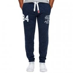Pantalons survêtement Superdry Trackster Lite Homme bleu