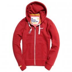 Sweat-shirt Superdry Orange Label Homme rouge