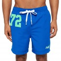 Swimsuit Superdry Premium Water Polo Man royal