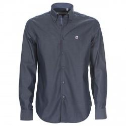 Camisa Canottieri Portofino Slim Hombre azul