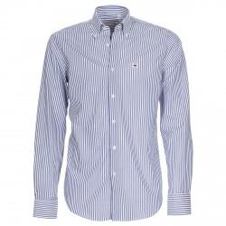 Camicia Canottieri Portofino Uomo a righe bianco-blu