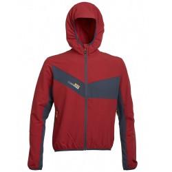 Trekking jacket Rock Experience Spider Man red