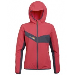 Chaqueta trekking Rock Experience Spider Mujer ciclamen