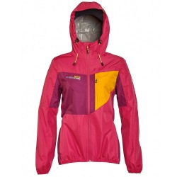 Trekking windstopper Rock Experience Crash 4 Woman red