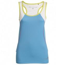 Camiseta trail running Rock Experience Thunder 8 Mujer azul claro