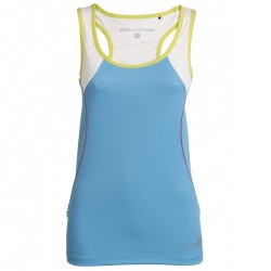Trail running tank Rock Experience Thunder 8 Woman light blue