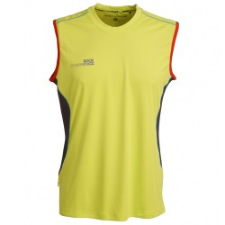 Camiseta trail running Rock Experience Thunder 7 Hombre lime
