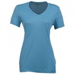 Trekking t-shirt Rock Experience Ambit 2 Woman light blue