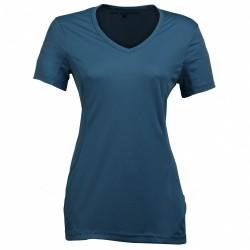 T-shirt trekking Rock Experience Ambit 2 Femme bleu
