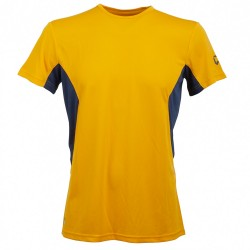 Ambit T-shirt Manica CortaRock Experience Arancio-Blu