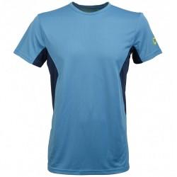 T-shirt trekking Rock Experience Ambit Homme bleu clair