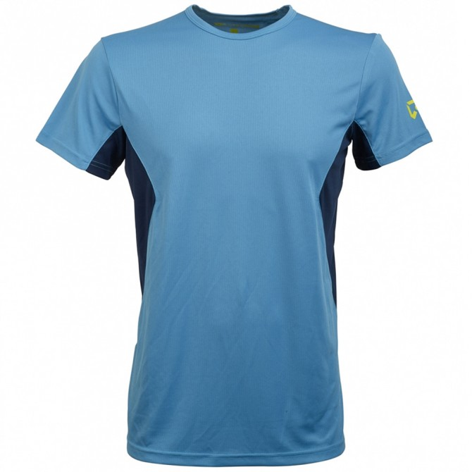 Trekking t-shirt Rock Experience Ambit Man light blue