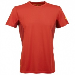 T-shirt trekking Rock Experience Ambit Homme rouge