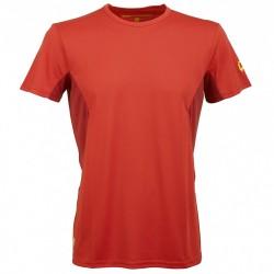 T-shirt trekking Rock Experience Ambit Uomo rosso