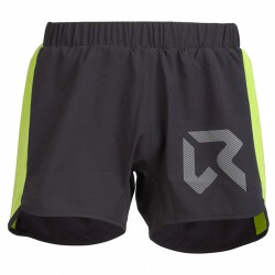Shorts trail running Rock Experience Speedy Uomo nero-lime