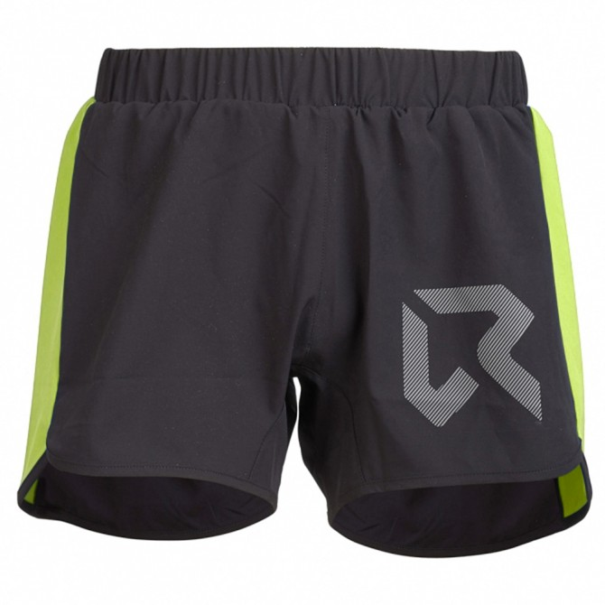 Shorts trail running Rock Experience Speedy Hombre negro-lime