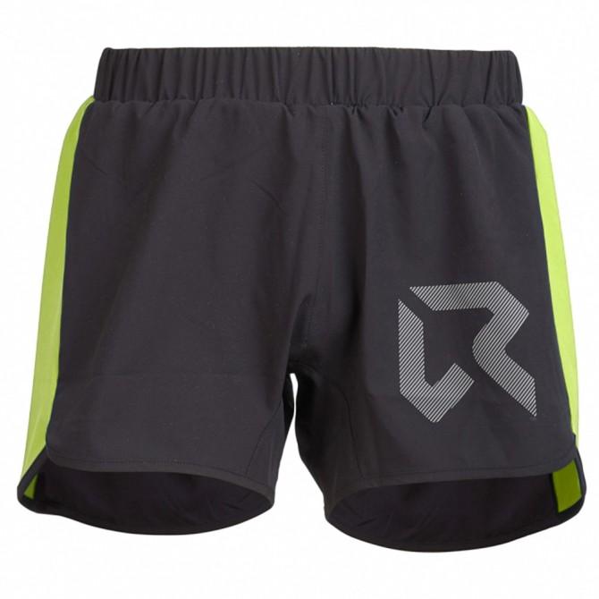 Trail running shorts Rock Experience Speedy Man black-lime