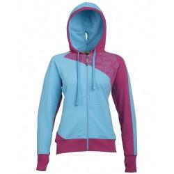 Sweatshirt Rock Experience Map Woman light blue