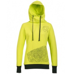 Sweat-shirt Rock Experience Peaks Femme lime