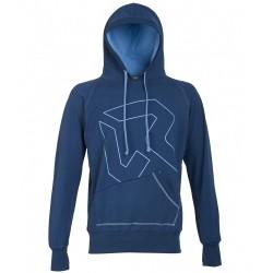 Sweat-shirt Rock Experience Gonfio Homme bleu