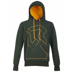 Sweat-shirt Rock Experience Gonfio Homme vert