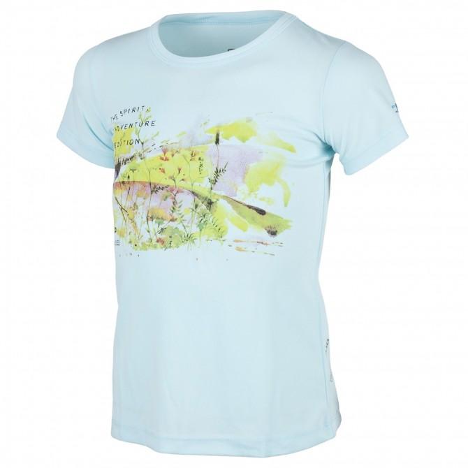 T-shirt trekking Cmp Girl azzurro CMP Abbigliamento outdoor junior