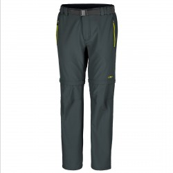 Trekking pants Cmp Zip Off Man grey-lime