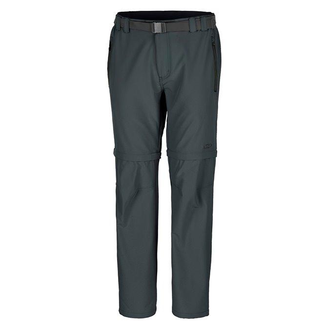 Trekking pants Cmp Zip Off Man grey