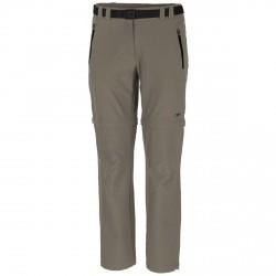 Pantalones trekking Cmp Zip Off Mujer barro