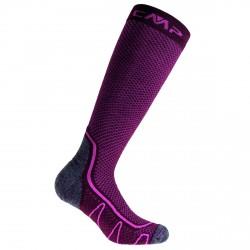 Trekking socks Cmp Poly Medium fuchsia
