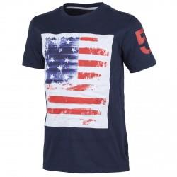 T-shirt Cmp Junior azul