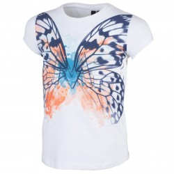 T-shirt Cmp Girl bianco