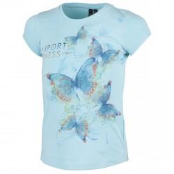 T-shirt Cmp Girl azul claro