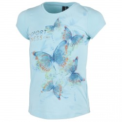 T-shirt Cmp Girl azzurro