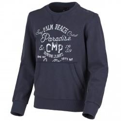 Felpa Cmp Junior blu