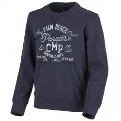Sweat-shirt Cmp Junior bleu