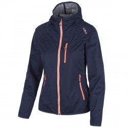 Softshell Cmp Woman blue