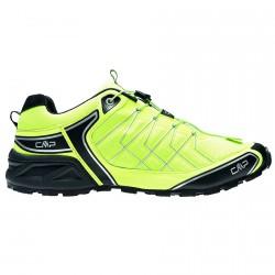 Chaussures trail running Cmp Super X Homme jaune fluo