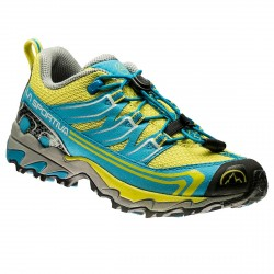 Scarpe trail La Sportiva Falkon low turchese-giallo