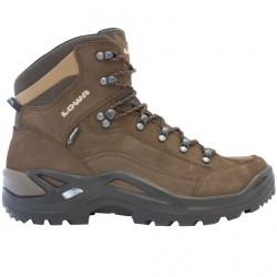 Pedule trekking Lowa Renegade Gtx Mid Uomo grigio-marrone