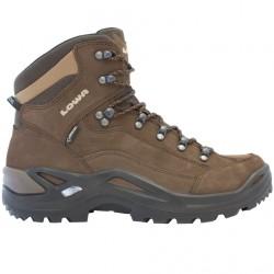 Zapatos trekking Lowa Renegade Gtx Mid Hombre gris-marrón