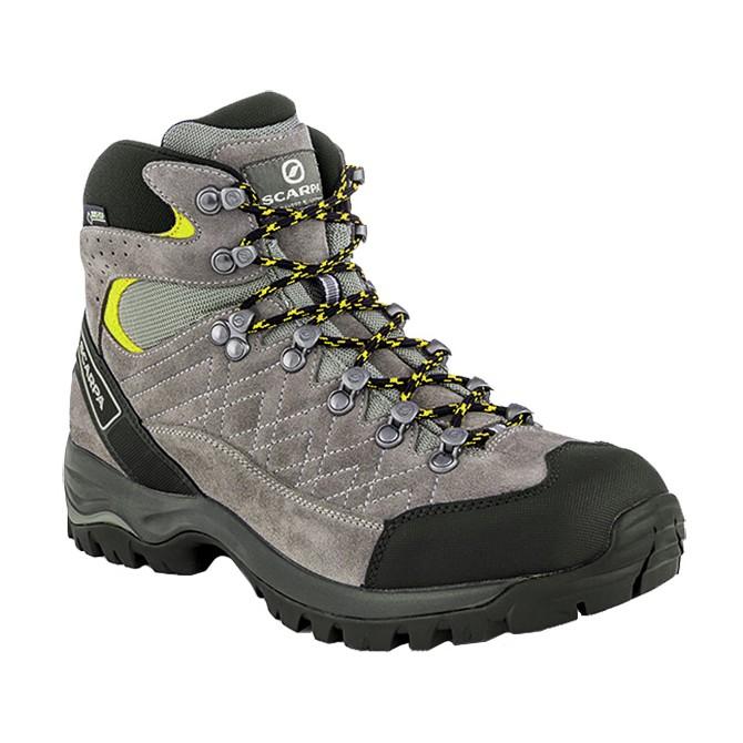 Zapatos trekking Scarpa Kailash Gtx Hombre gris-verde