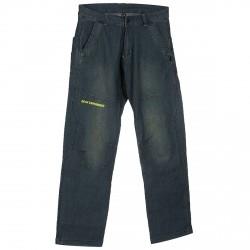 Testardo Pantalone Rock Experi Denim grigio