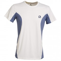 T-shirt trail running Rock Experience Rapid 5 Homme blanc