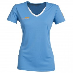 Trail running t-shirt Rock Experience Liberty Woman turquoise