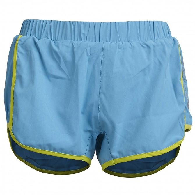 Trail running shorts Rock Experience Speedy Woman light blue