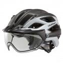 Bike helmet Slokker Penegal black-white