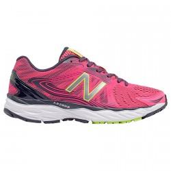 Chaussures running New Balance W680LL4 Femme fuchsia